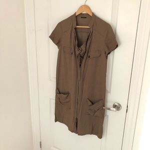 IKKS brown dress